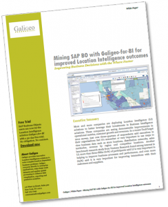 Mining SAP BO with Galigeo-for-BI
