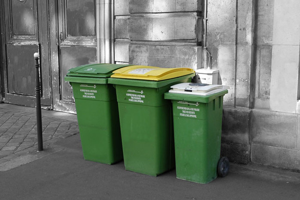 Analyse cartographique - déchets - ville de Paris