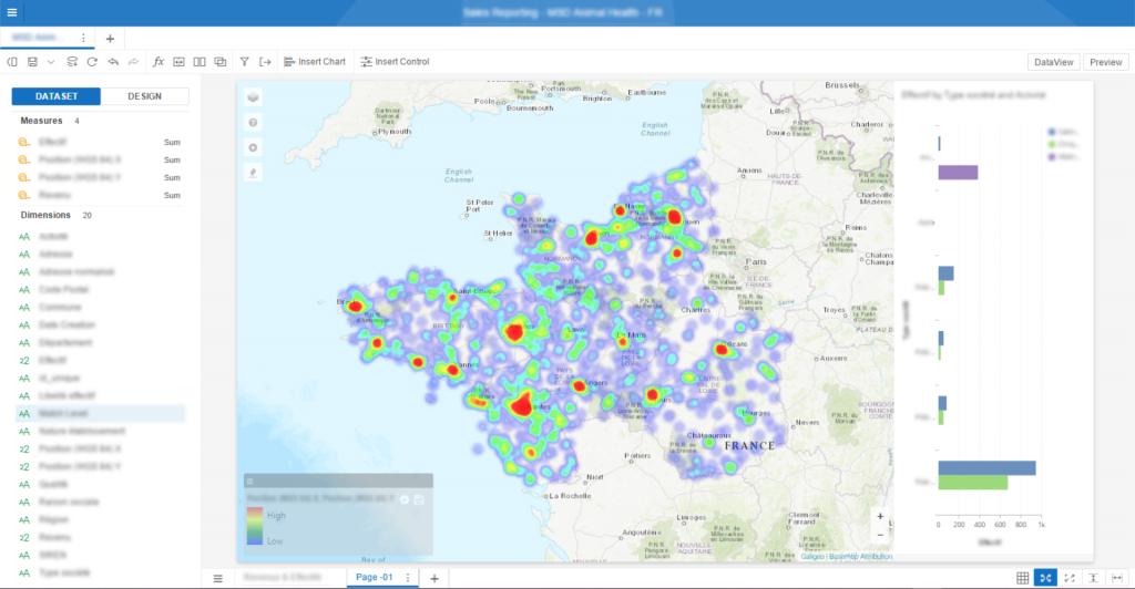 Crime prediction - screenshot