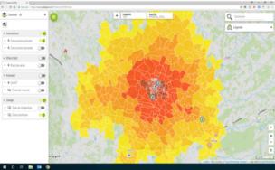 Geomarketing software - Sales performance