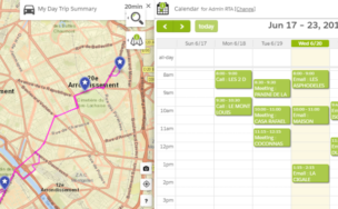 Optimisation de tournées - gérer les rdv clients