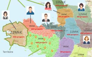 Sales territory - Galigeo