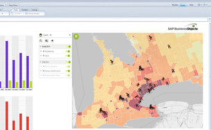SAP Business Objects - Galigeo for web intelligence