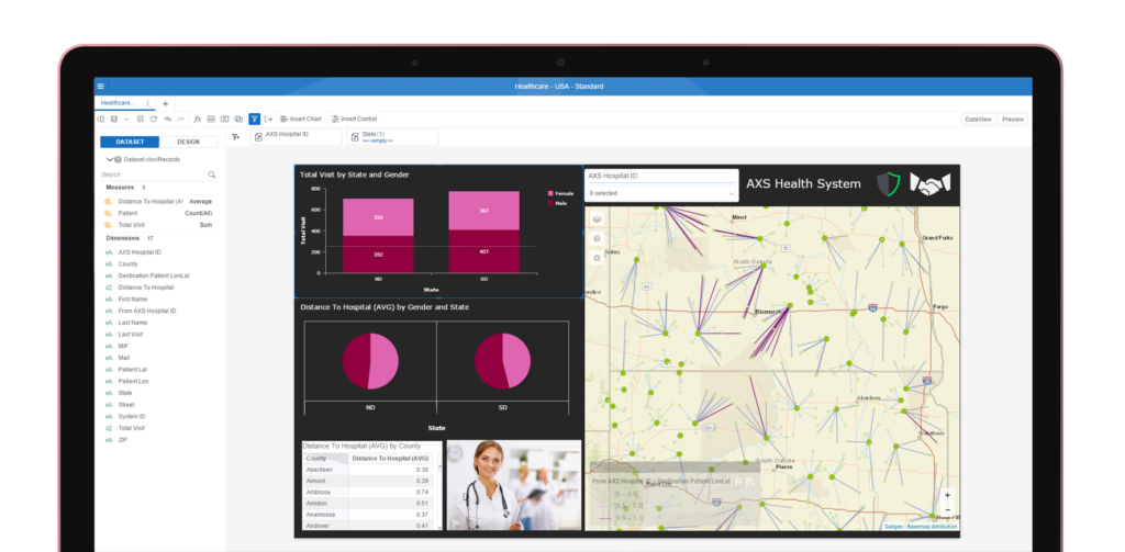 Galigeo For Lumira Discovery - Location Intelligence Solution