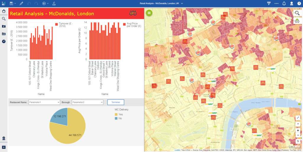 Galigeo For IBM Cognos - Complete Geomapping Solution